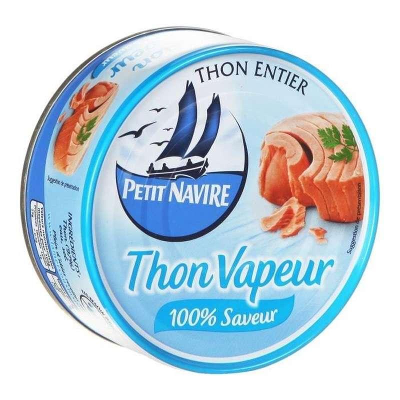 Thon naturel vapeur, Petit Navire (130 g)