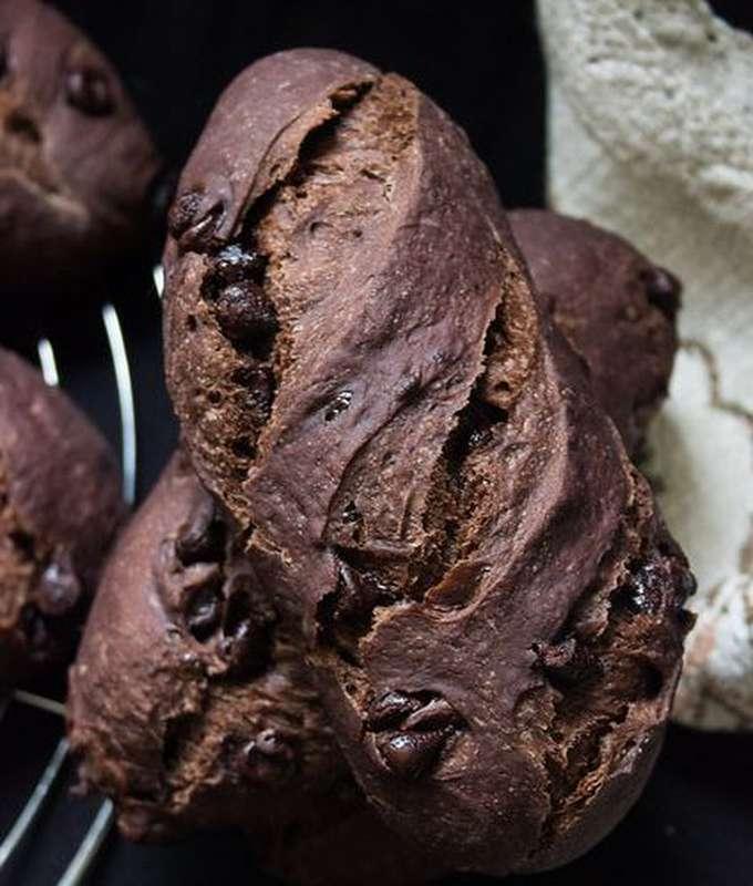 Petit pain au Cacao (environ 130 g)