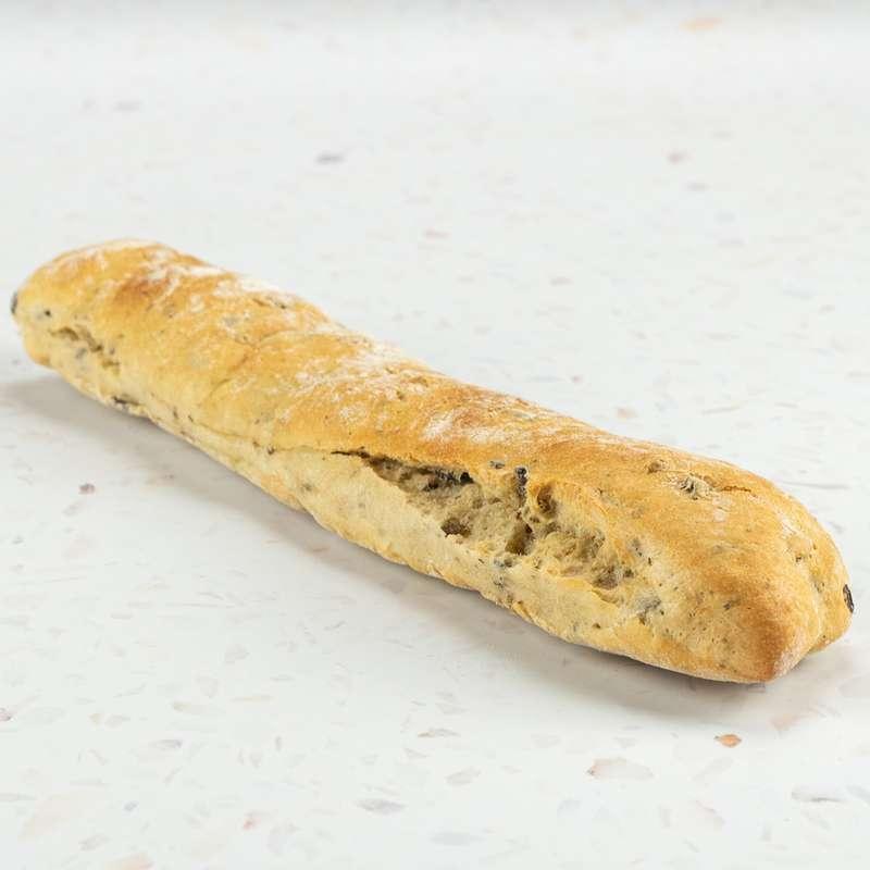 Petite baguette aux Olives (environ 150 g)