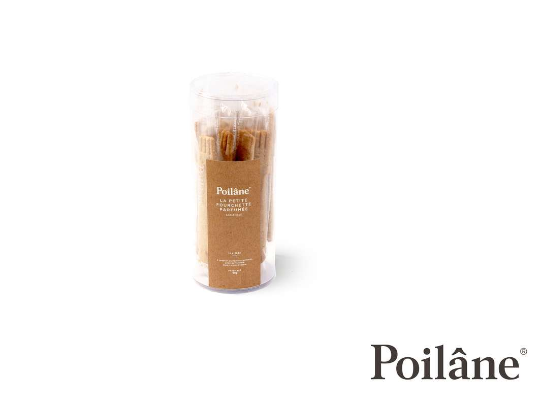 Petites fourchettes parfumées, Poilâne (x16, 90 g)