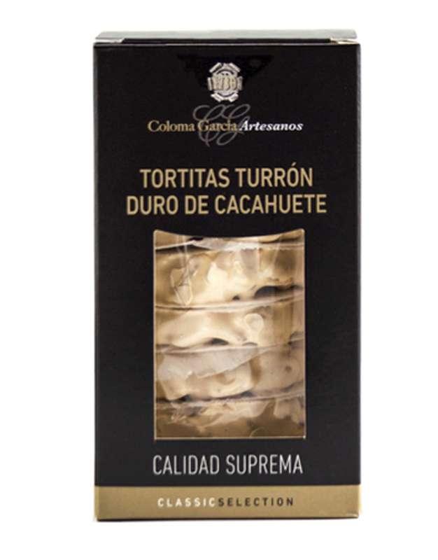 Petites tartes de turron aux cacahuètes, Coloma Garcia (180 g)