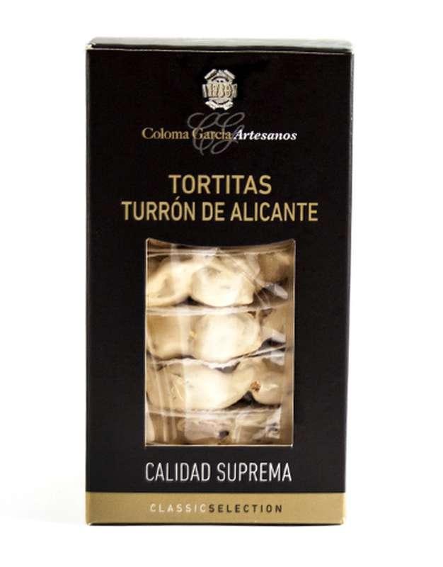 Petites tartes de turron d'Alicante IGP, Coloma Garcia (180 g)
