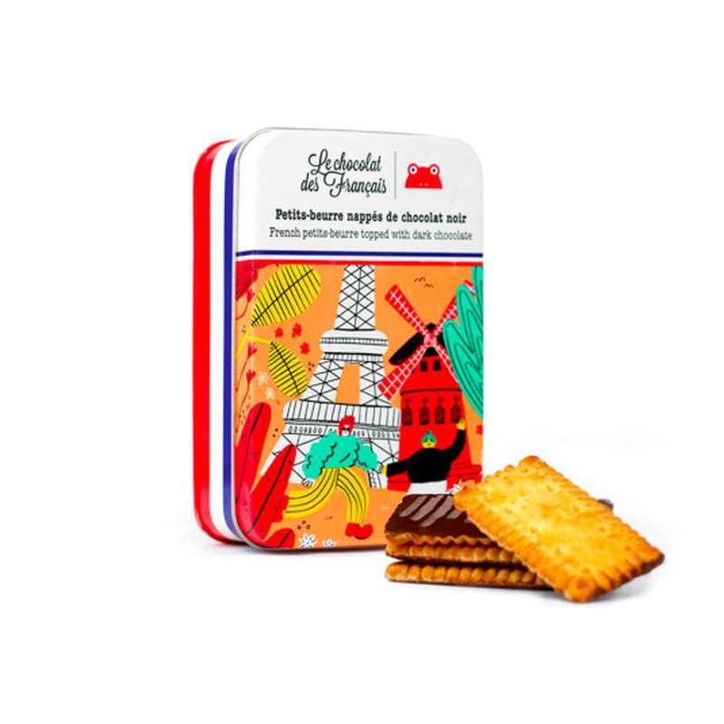 Petits-beurre nappés de chocolat noir, Le Chocolat des Français (65 g)