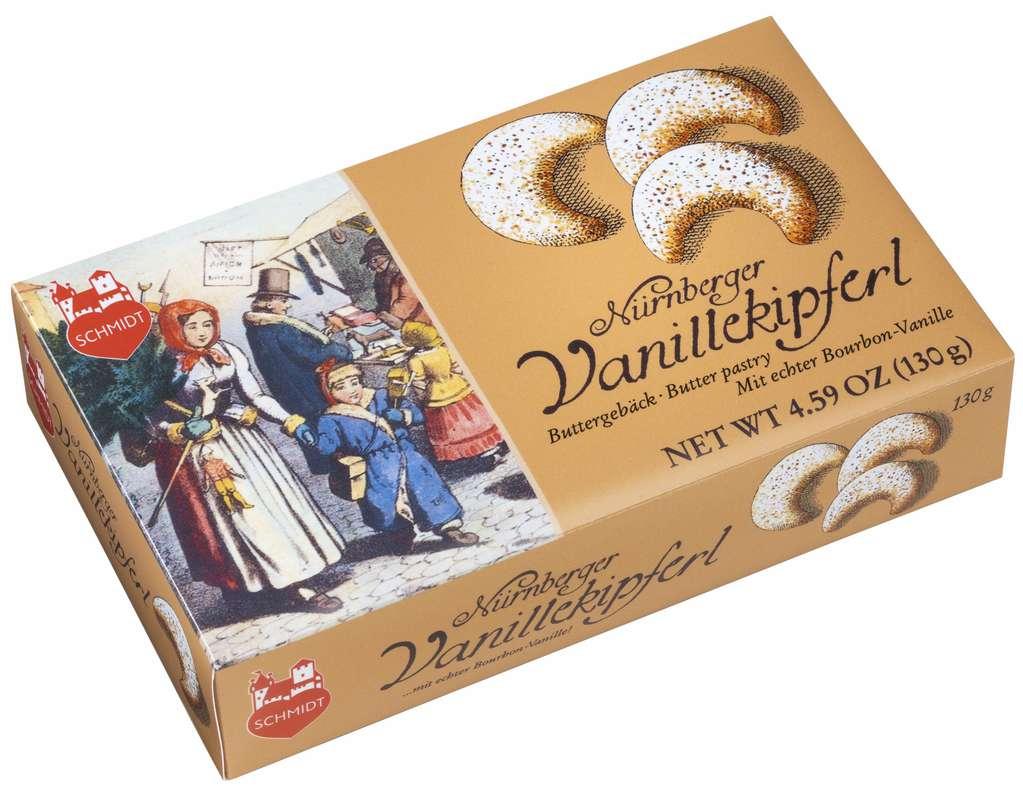 Petits croissants à la vanille, Schmidt (130 g)