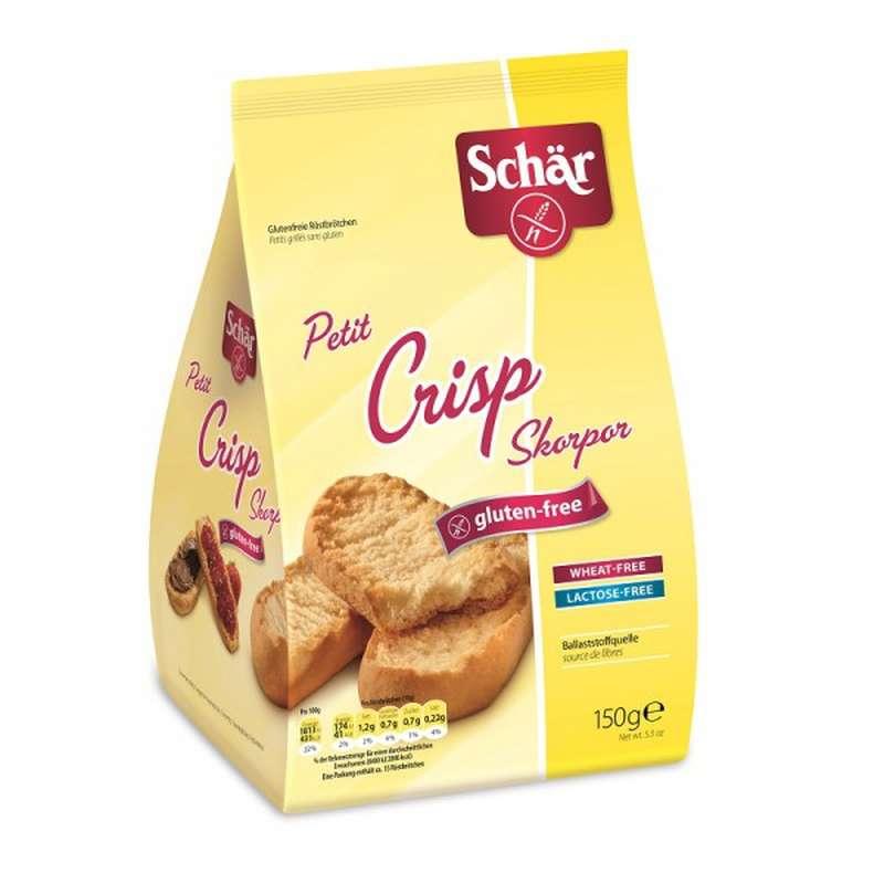 Petit crisp suédois sans gluten, Schar (150 g)
