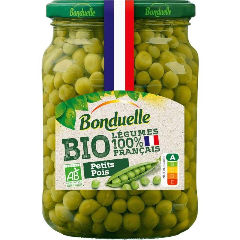 Petits pois BIO, Bonduelle (360 g)