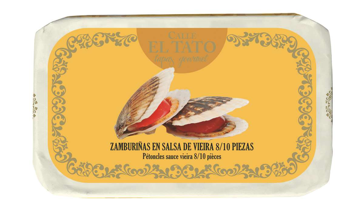 Pétoncles à la sauce viera, Calle El Tato (85 g)