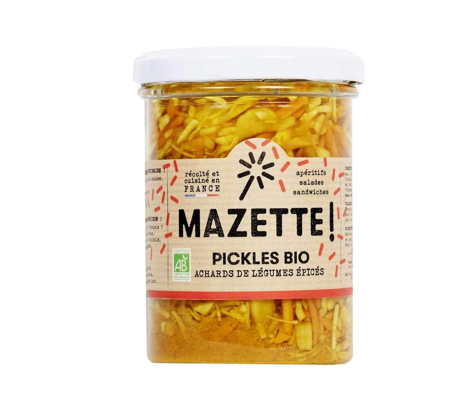 Pickles achards de légumes épicés BIO, Mazette ! (400 g)
