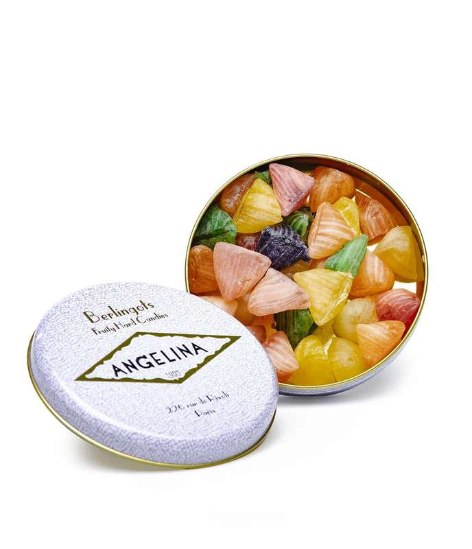 Pilulier de berlingots aux fruits, Angelina (100 g)