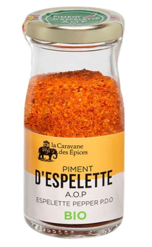 Piment d'Espelette AOP BIO, Albert Ménès (40 g)
