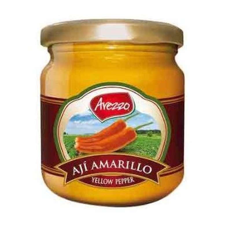 Piment jaune frais Aji Amarillo en purée, Arezzo (195 g)