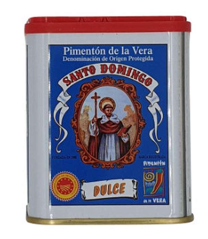 Pimenton/paprika de la vera Santo Domingo doux et fumé, Santo Domingo (75 g)