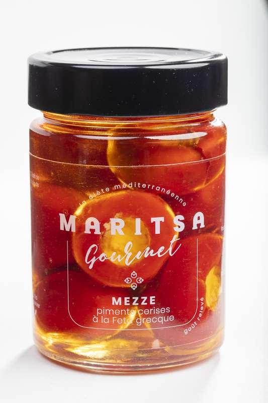 Piments cerise à la feta grecque, Maritsa (140 g)