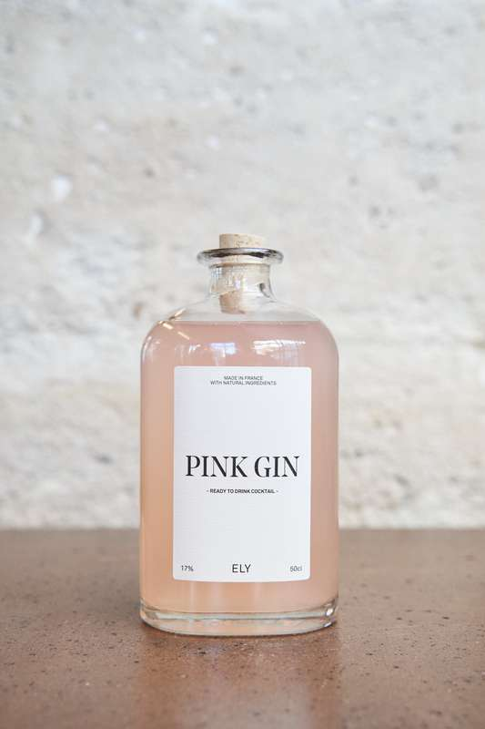Pink Gin, Ely (50 cl)