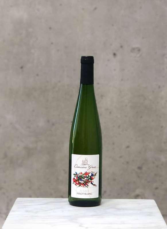 Pinot blanc naturel du domaine Gross 2018 (75 cl)