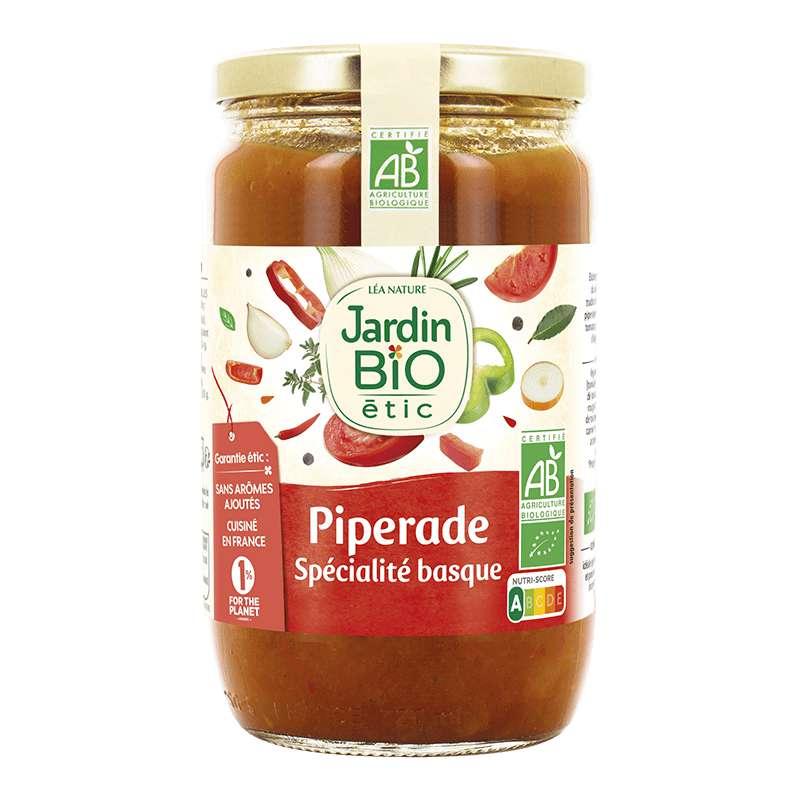 Piperade BIO, Jardin Bio étic (650 g)
