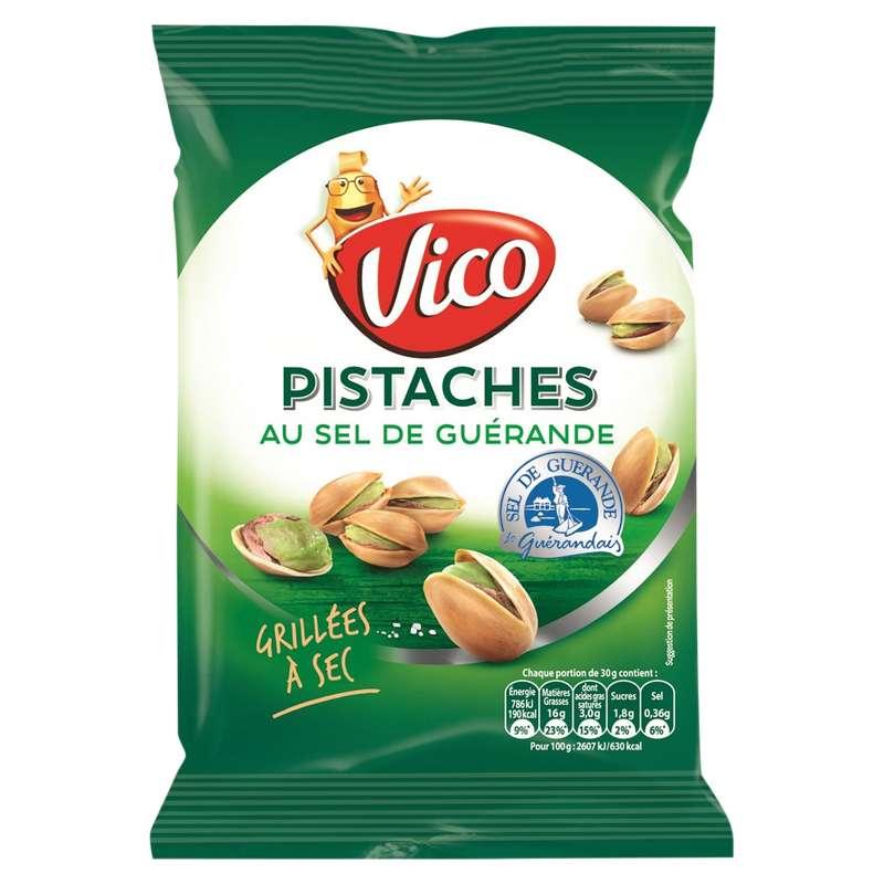 Pistaches salées au sel de guérande, Vico (100 g)