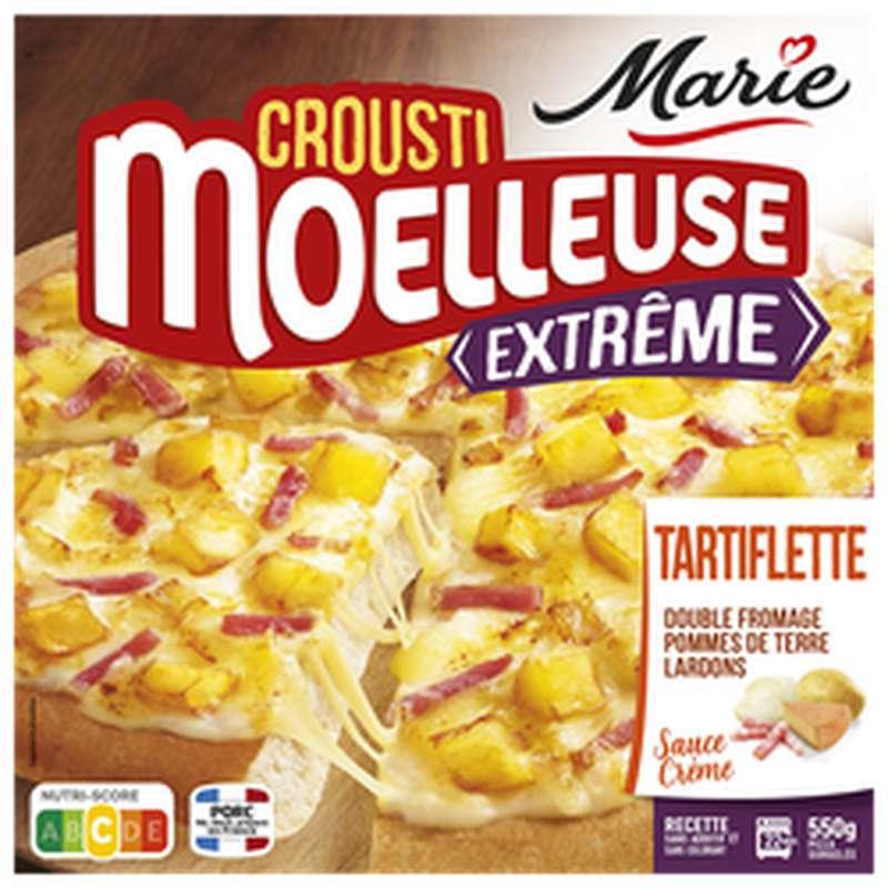 Pizza crousti-moelleuse extrême tartiflette, Marie (550 g)