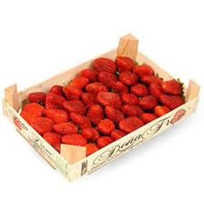 Plateau de fraises (1 kg), Espagne