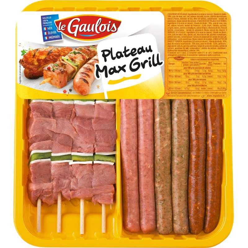 Plateau max grill, Le Gaulois (960 g)
