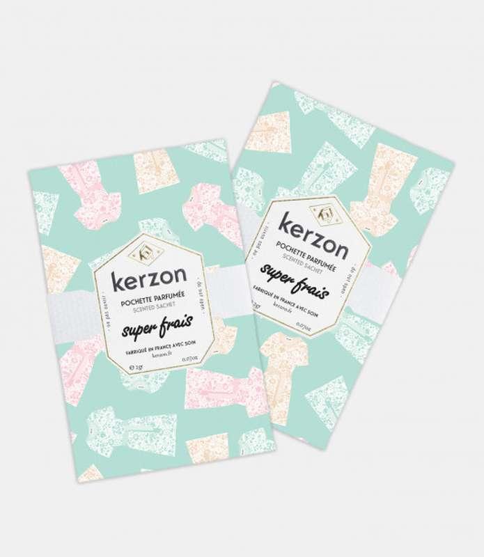 Pochettes parfumées Super Frais, Kerzon (x 2, 2 g)