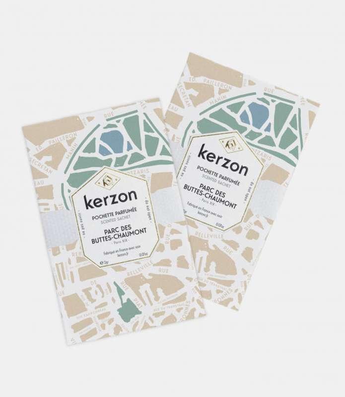 Pochettes parfumées Parc des Buttes-Chaumont, Kerzon (x 2, 2 g)