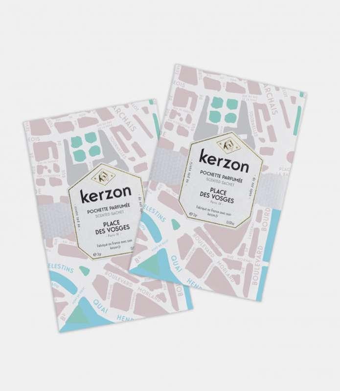 Pochettes parfumées Place des Vosges, Kerzon (x 2, 2 g)