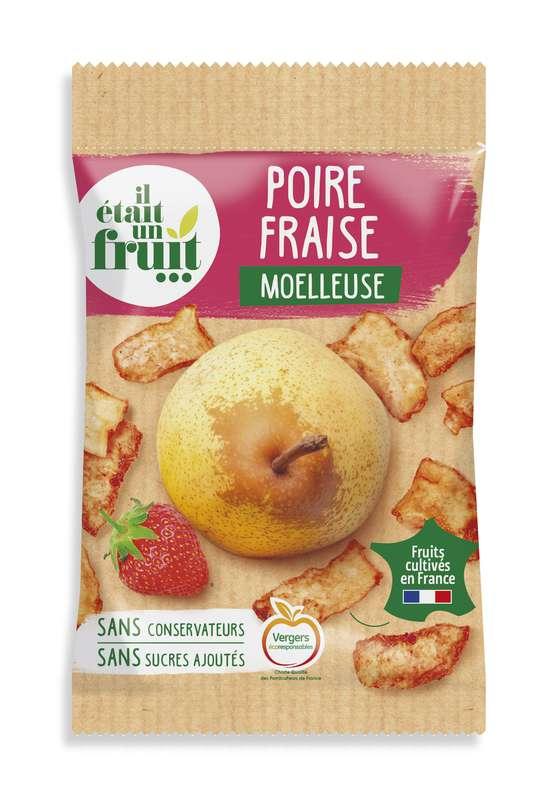 Chips de Poire et Fraise moelleuse , Il Etait Un Fruit (55 g)