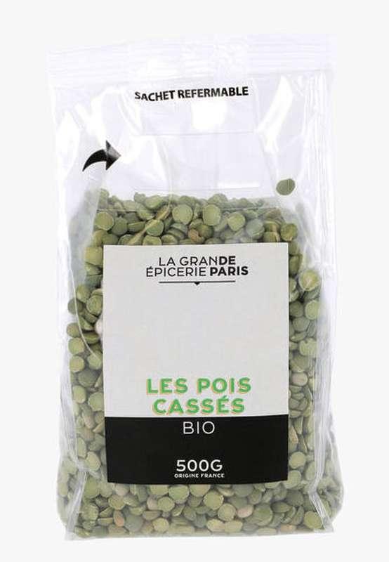 Pois cassés BIO, La Grande Epicerie de Paris (500 g)