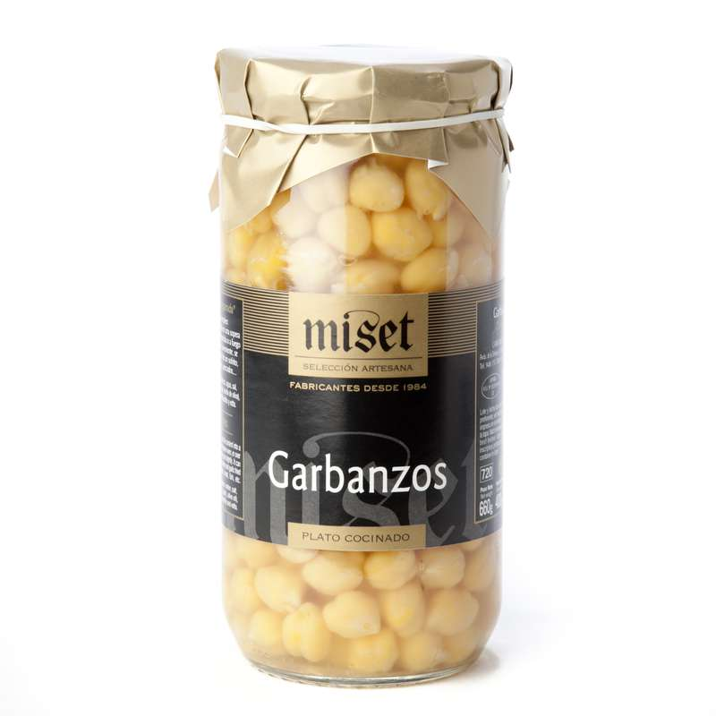 Pois chiches, Miset (400 g)
