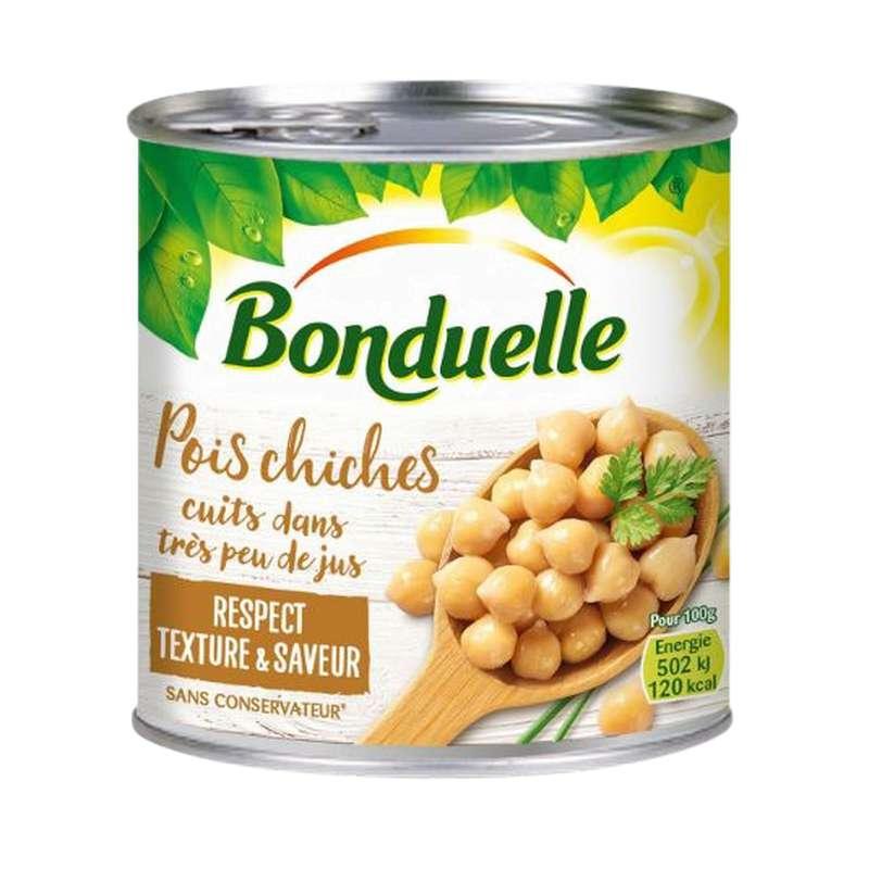 Pois chiches très peu de jus, Bonduelle (265 g)