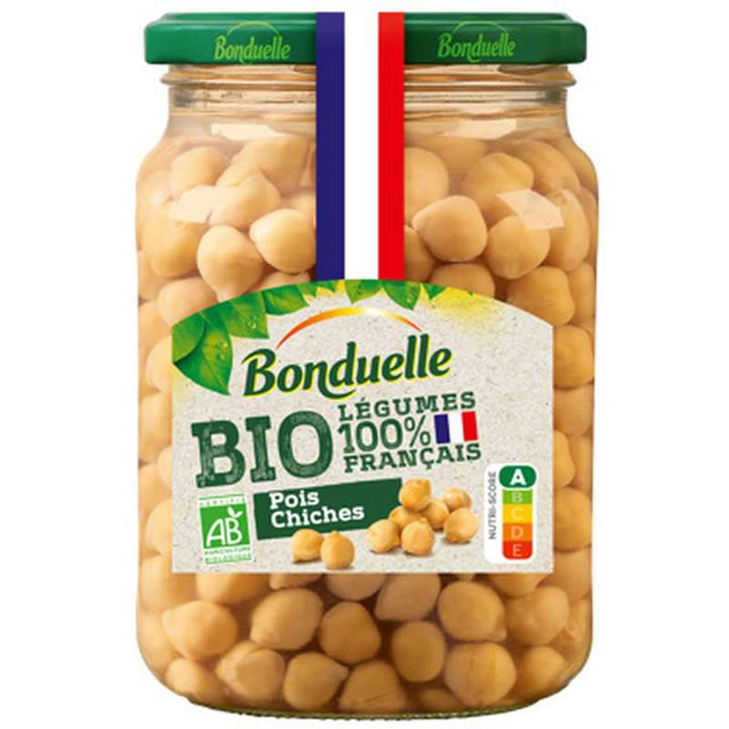 Pois Chiche BIO, Bonduelle (340 g)