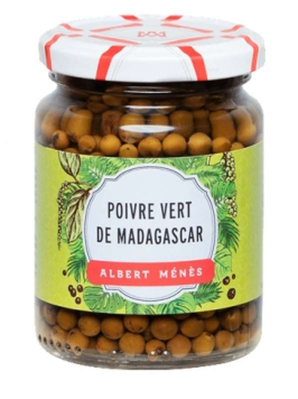 Poivre vert de Madagascar en saumure, Albert Ménès (60 g)