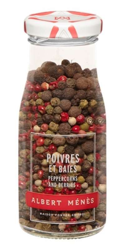 Poivres et baies en grains, Albert Ménès (55 g)