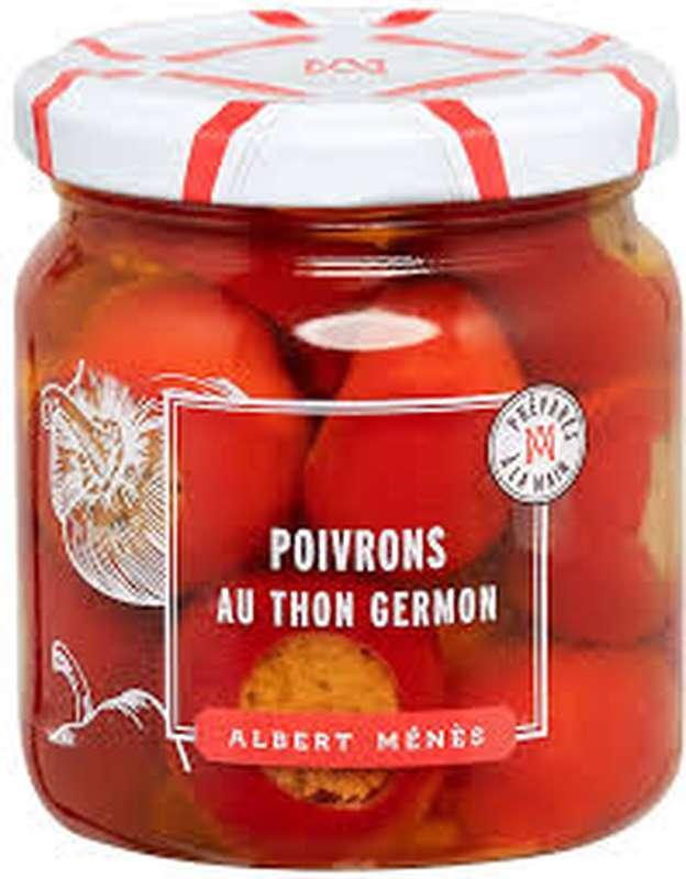 Poivrons fourrés au thon Germon, Albert Ménès (190 g)