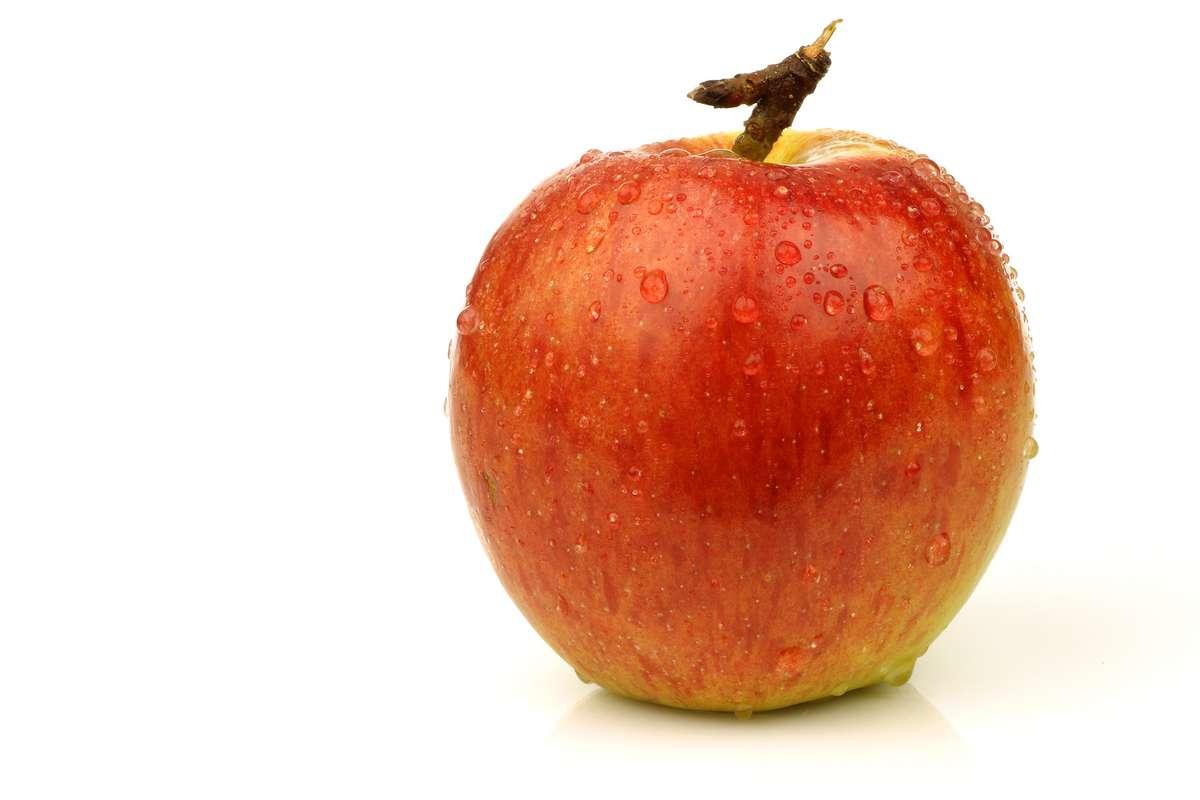 Pomme bicolore Braeburn DEMETER BIO (petit calibre), Italie