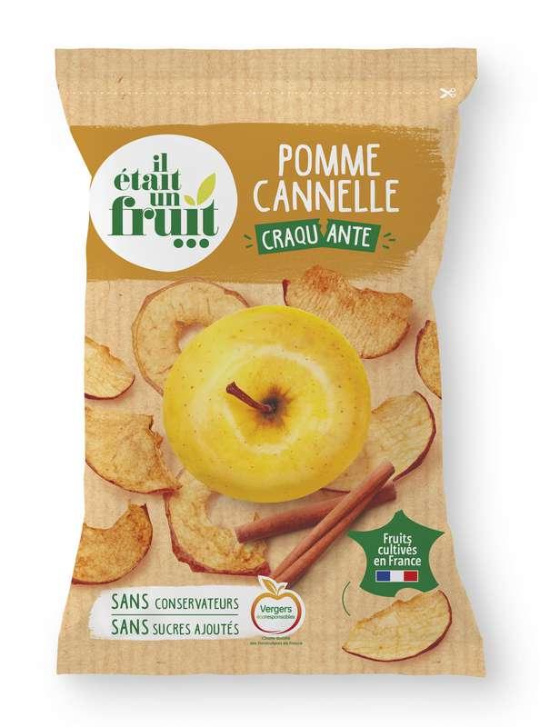 Chips de pomme cannelle croquante, Il Etait Un Fruit (70 g)
