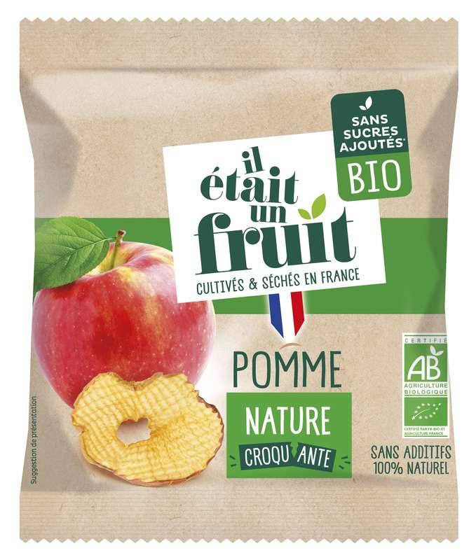 Pomme Croquante BIO, Il Etait Un Fruit (15 g)
