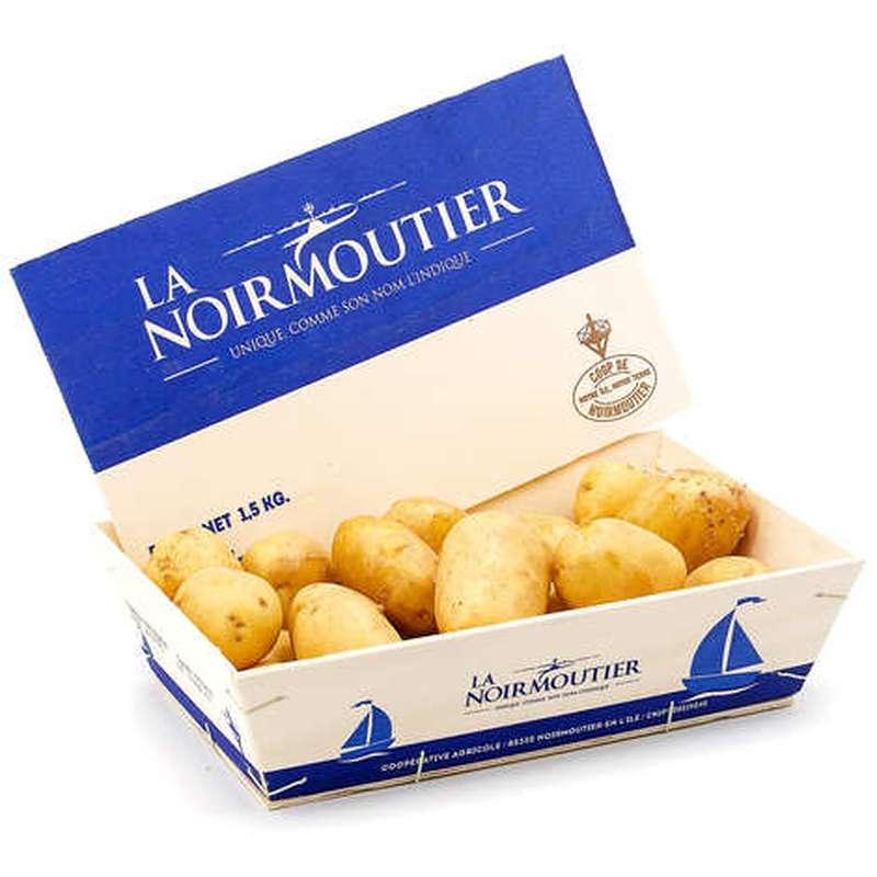 Pomme de terre grenaille de Noirmoutier (barquette de 750 g), France