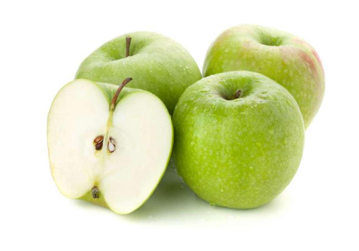 Lot de 4 pommes Granny Smith DEMETER BIO (calibre moyen), Italie