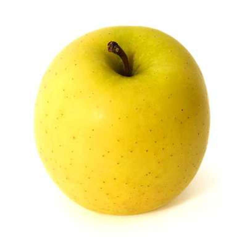 Pomme jaune Golden delicious BIO (petit calibre), France