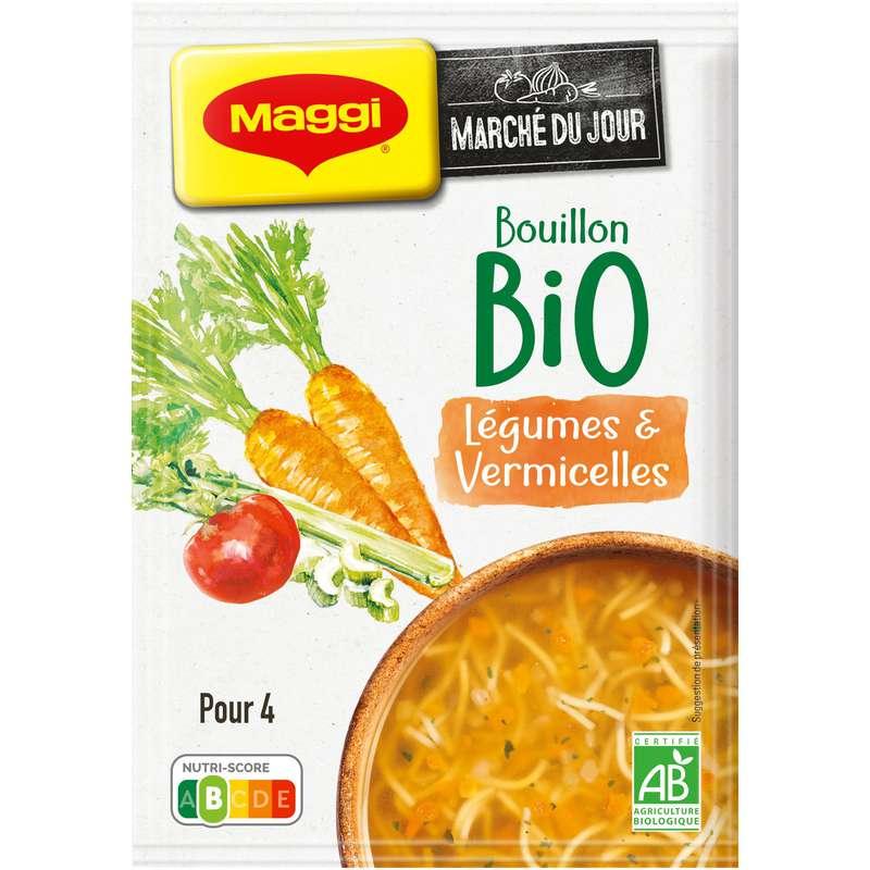 Potage bouillon de légumes BIO, Maggi (60 g)