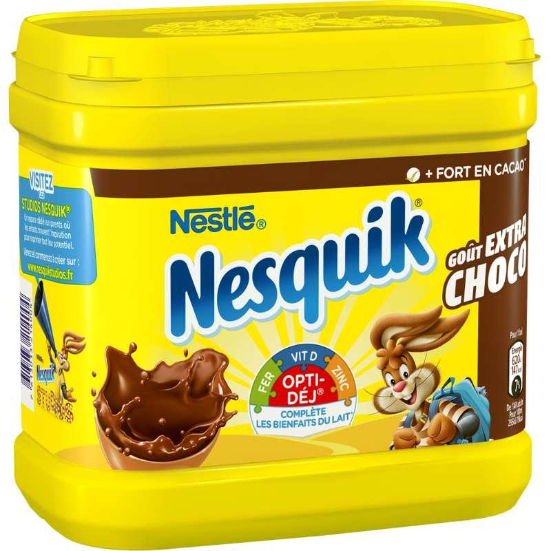 Nesquik intense, goût extra chocolat, Nestlé (600 g)