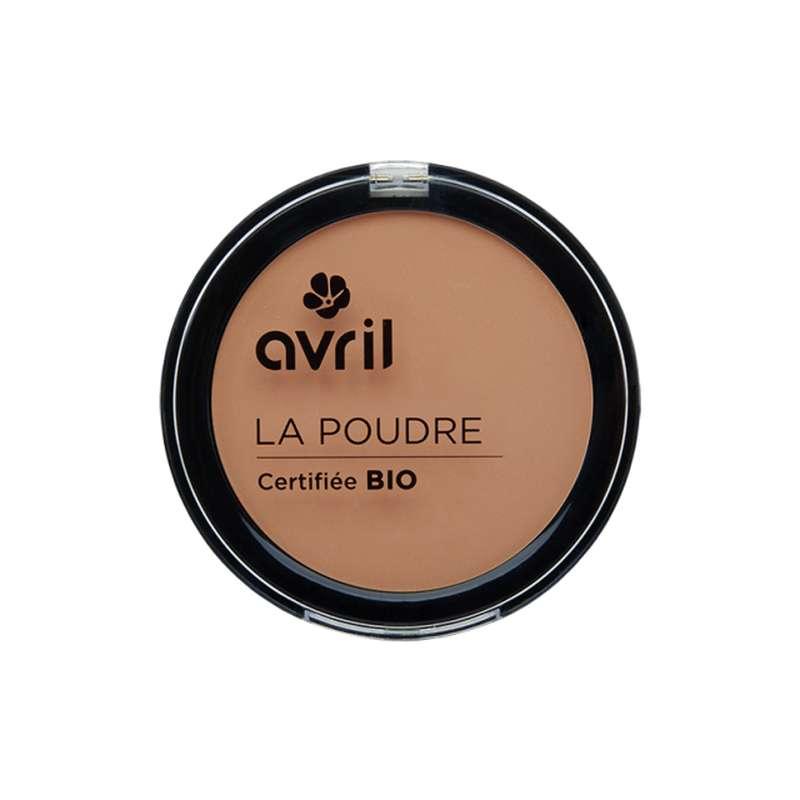 Poudre compacte abricot certifiée BIO, Avril (7 g)