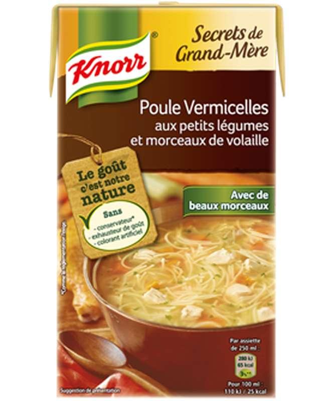 Poule vermicelle Secret de Grand-Mère, Knorr (1 L)