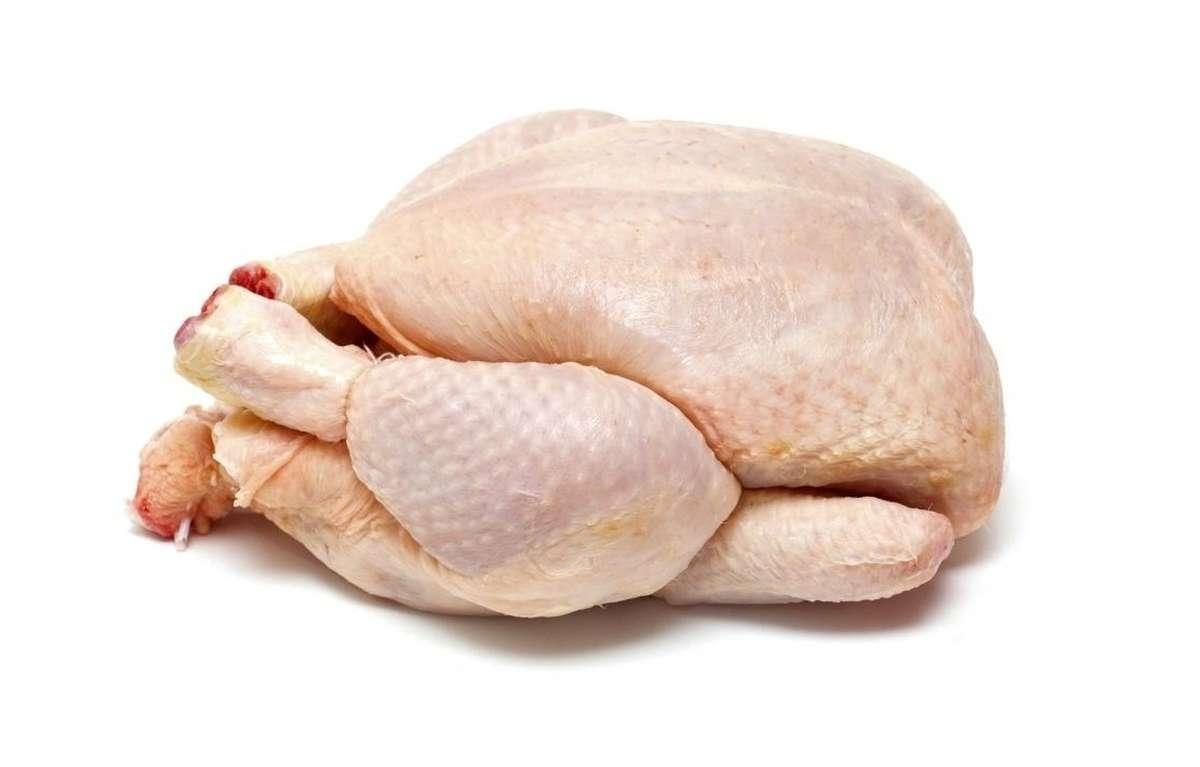 Véritable poulet jaune fermier Label Rouge origine France (entre 1.2 et 1.3 kg)