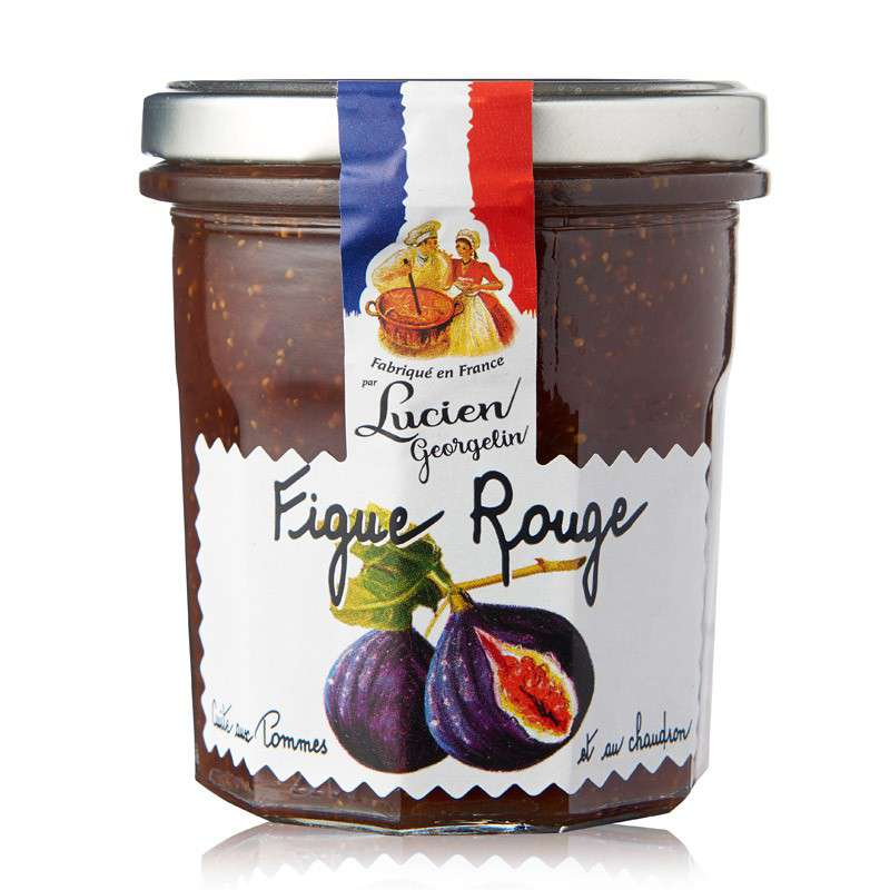 Confiture figue rouge, Lucien Georgelin (320 g)