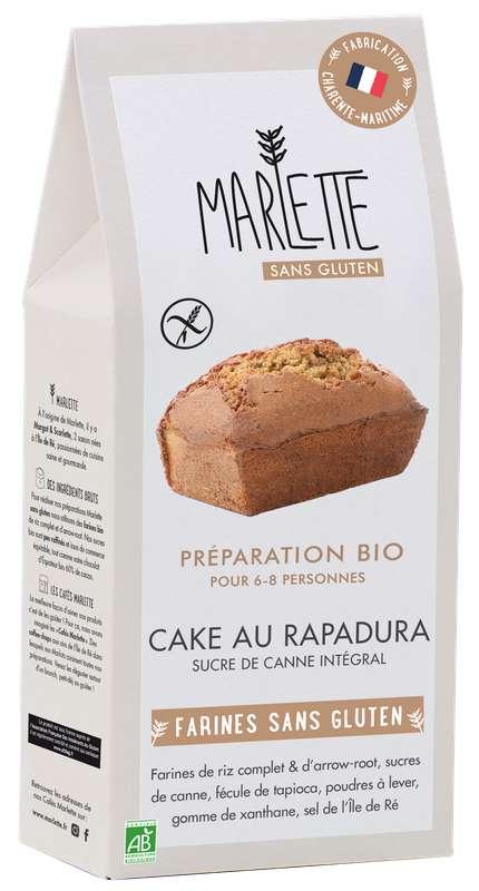 """Préparation """"Cake au Rapadura"""" Bio & Sans Gluten, Marlette (330 g)"""