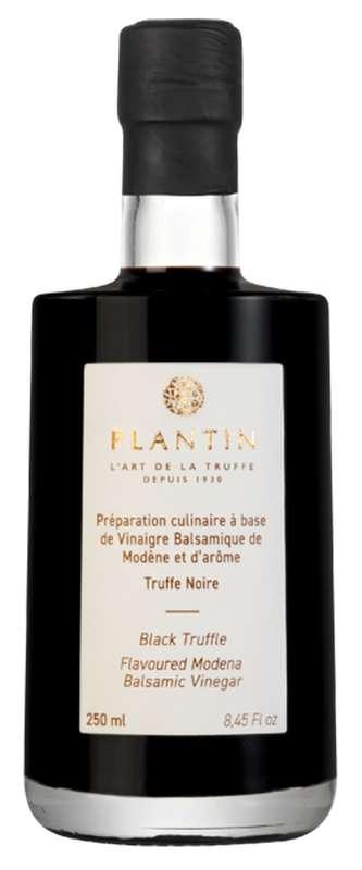 Préparation culinaire à base de vinaigre balsamique de Modène saveur truffe noire, Plantin (25 cl)