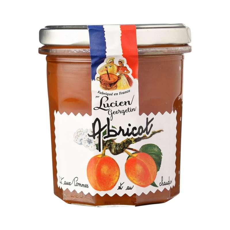Confiture d'abricots cuite au chaudron, Lucien Georgelin (320 g)